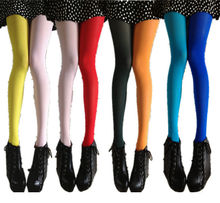 Fashion Sexy Women Patchwork Footed Tights Stretchy Pantyhose Stockings Elastic Two Color Silk Skinny Legs