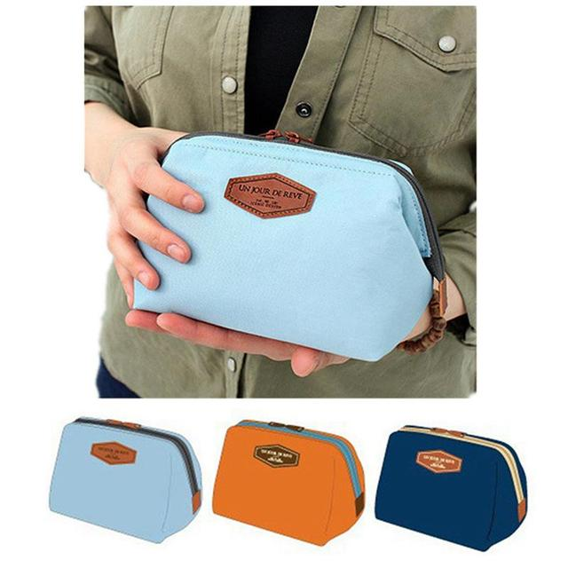 aa9f62365cb6 US $1.92 39% OFF|Women Travel Toiletry Make Up Bag Cosmetic Pouch Clutch  Handbag Purses Case For Girls Beauty Cosmetic Bag Organizer Makeup Bag-in  ...
