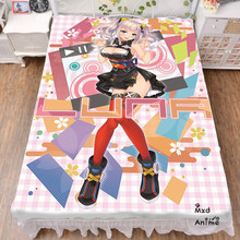Japanese Anime Kaguya Luna Bed sheets  Bedding Coverlet cartoon bedsheets bedsheet cosplay fan gift drop shipping