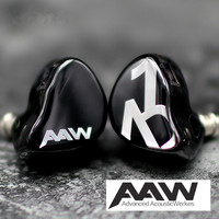 Singapore AAW Custom Made Balanced Armature Dynamic Hybrid AXH A2H A3H A1D W900 Stage Monitor Hifi Music Sports Stereo Earphones