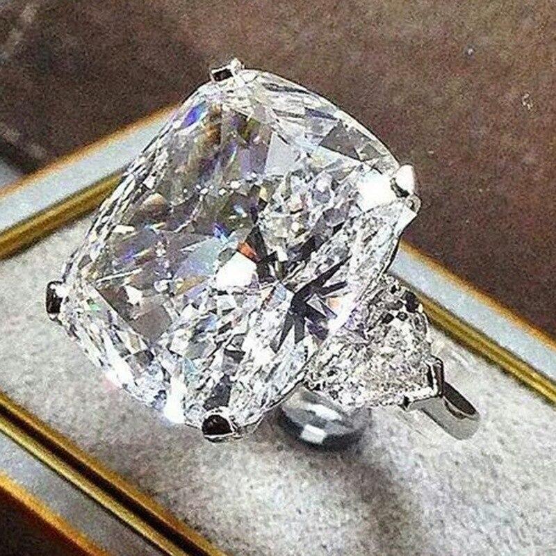 Anillo de diamantes de boda de oro de 14K para mujeres anillo de topacio blanco joyería Bague anillo peridoto piedras preciosas Bizuteria 14K anillo de oro joyería Lujo blanco diamante transparente bordado cascada ventana cenefa borla ajuste cortina para sala de estar ventana tratamientos decoración del hogar