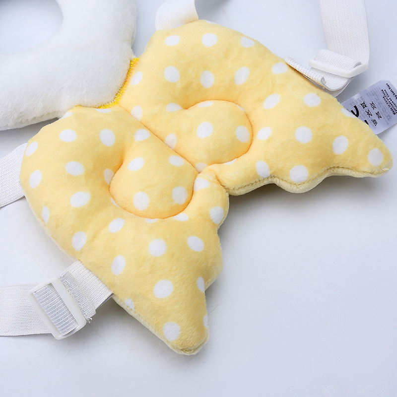 Baby Toddler Kids Head Cushion Protection Pillow Safety Pad For Crawling Walk UK