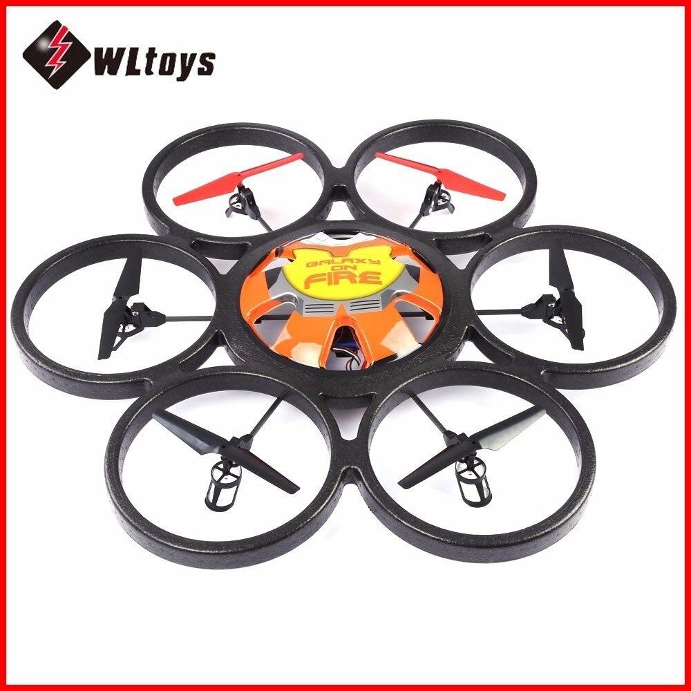 80X80X11.7 CM Plus Grand WLtoys V323 Drones 2.4G 4CH 6-Axe Gyro Quadcopters RC télécommande hexacopter Soucoupe Volante drône jouet