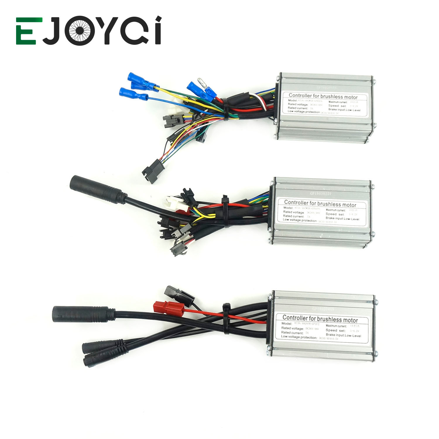 EJOYQI KT 36V 48V 14A 250W Ebike Controller 6 Mosfets For Electric Bicycle Motor Electric Bike Brushless Controller Waterproof