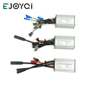 Image 1 - EJOYQI KT Ebike denetleyici 36V 48V 14A 250W 6 Mosfets fırçasız denetleyici elektrikli bisiklet dönüştürme kiti