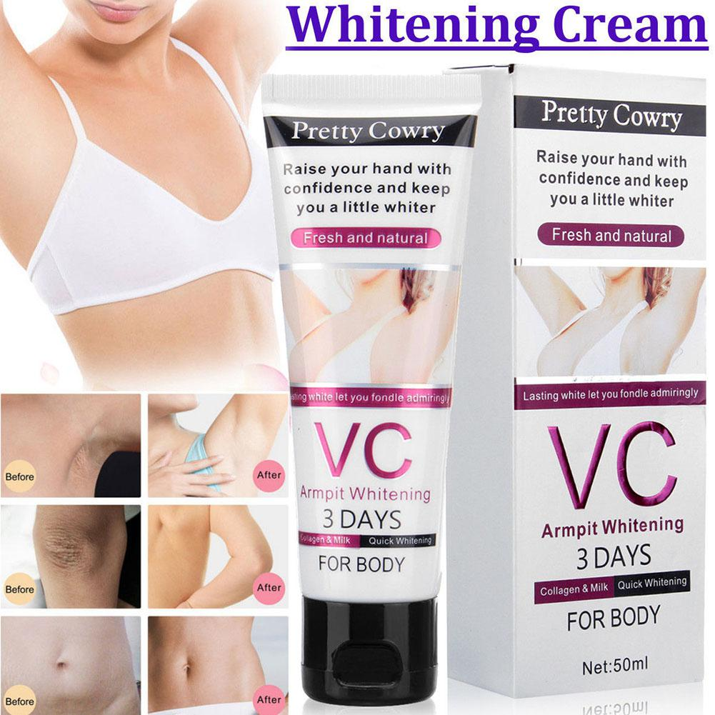 VC Underarm Whitening Cream for Bikini Elbow Armpit Knee Dark Area in Body Self Tanners Bronzers from Beauty Health
