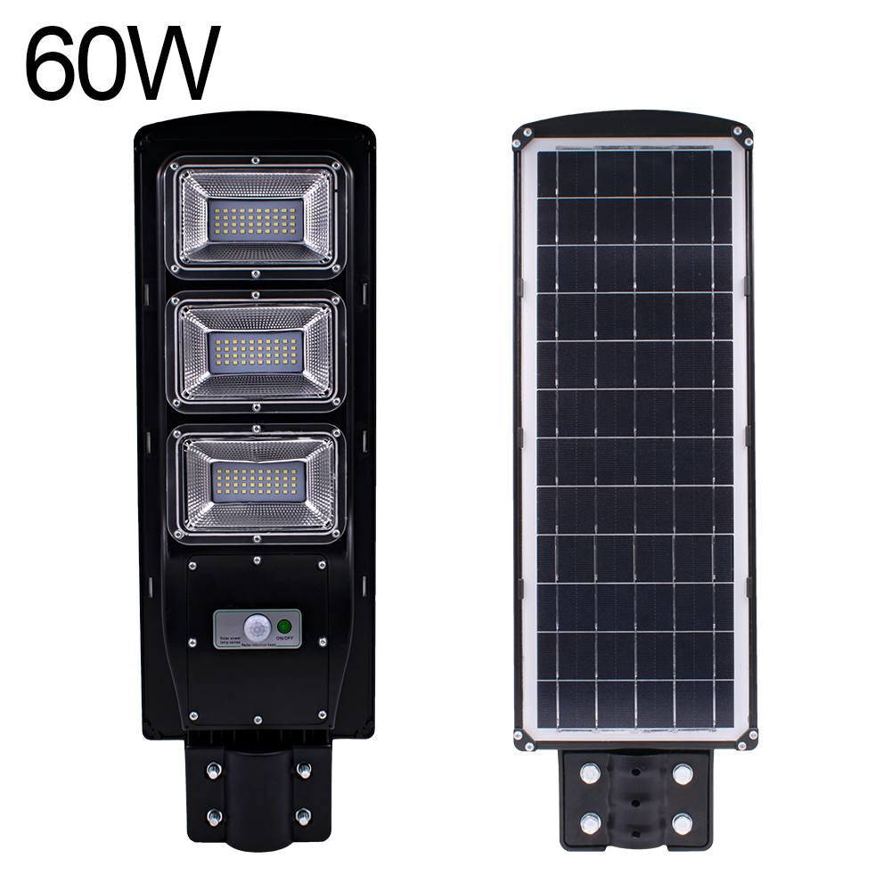 Capteur solaire à Induction et à luminosité constante du mouvement Radar 2 en 1 de frauxi 60 W lampe extérieure murale à LED à télécommande