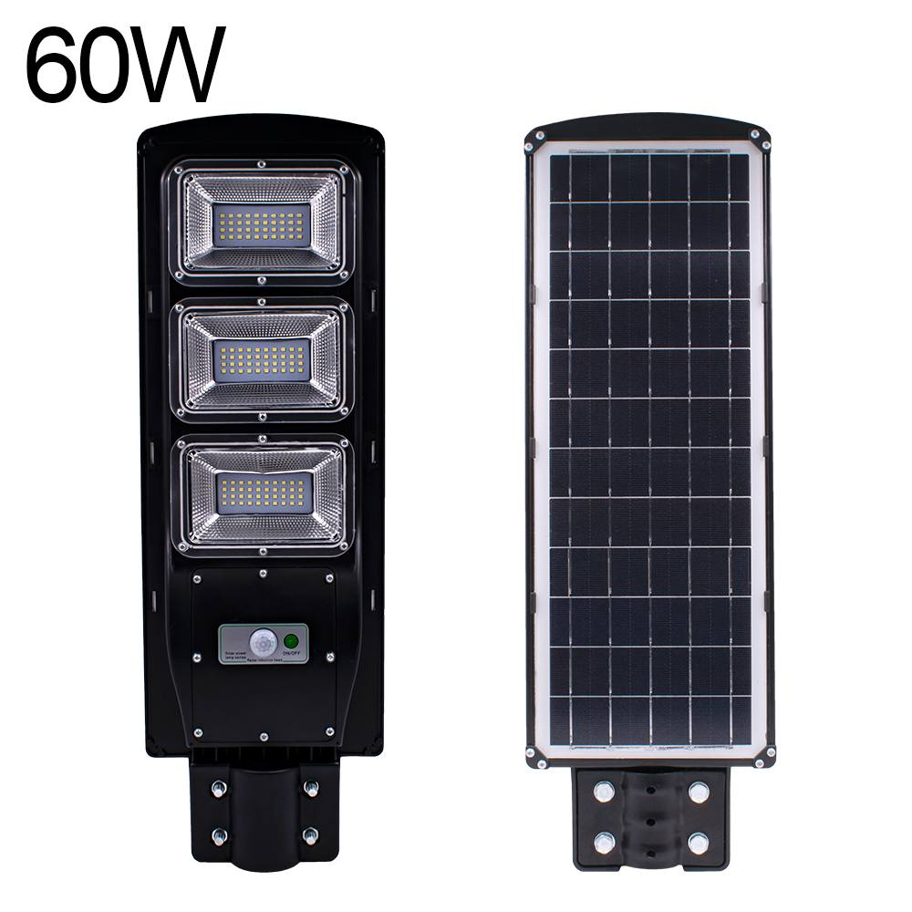 Smuxi 60W Radar motion 2 In 1 Constantly bright & Induction Solar Sensor Light Remote Control Outdoor LED Wall Lamp Street LightSmuxi 60W Radar motion 2 In 1 Constantly bright & Induction Solar Sensor Light Remote Control Outdoor LED Wall Lamp Street Light