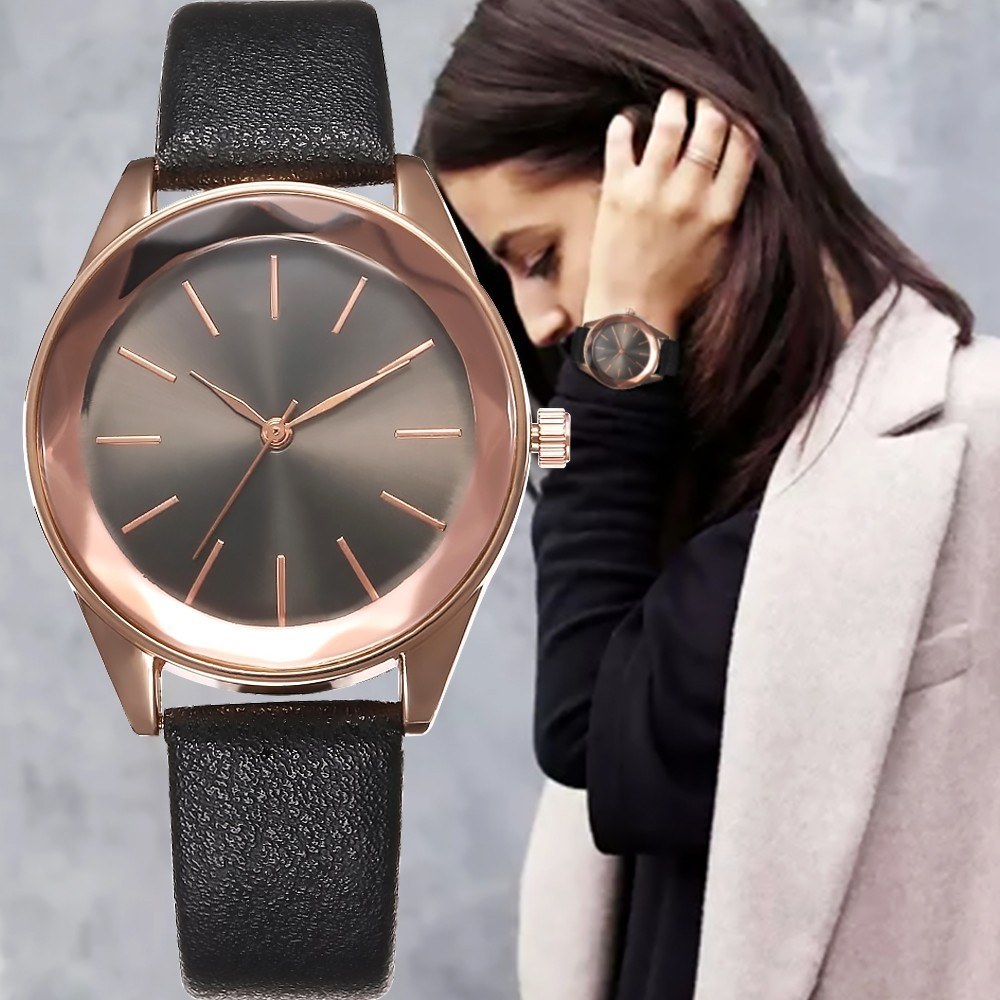 Luxury Brand Ladies Quartz Watches Sports Leather Wristwatch Fashion Cool Clock Relogio Watch Women For Droshipping Reloj Mujer