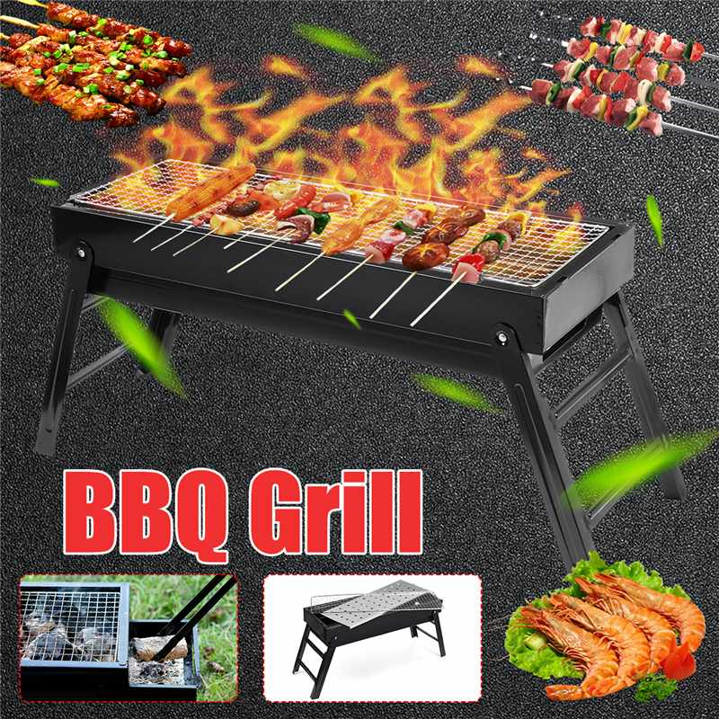 60.5X22X37cm BBQ Grill Portable Drawer Charcoal Grill for Camping BBQ Separate detachable folding BBQ Grill Easily Cleaned60.5X22X37cm BBQ Grill Portable Drawer Charcoal Grill for Camping BBQ Separate detachable folding BBQ Grill Easily Cleaned