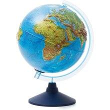 Глобус Земли Globen физико-политический рельефный с подсветкой, 250мм