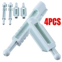 4pcs/2 Pairs Car Headlight Adjuster White Plastic Auto Mounting Bracket Kit For BMW E39 5 Series 63120027924