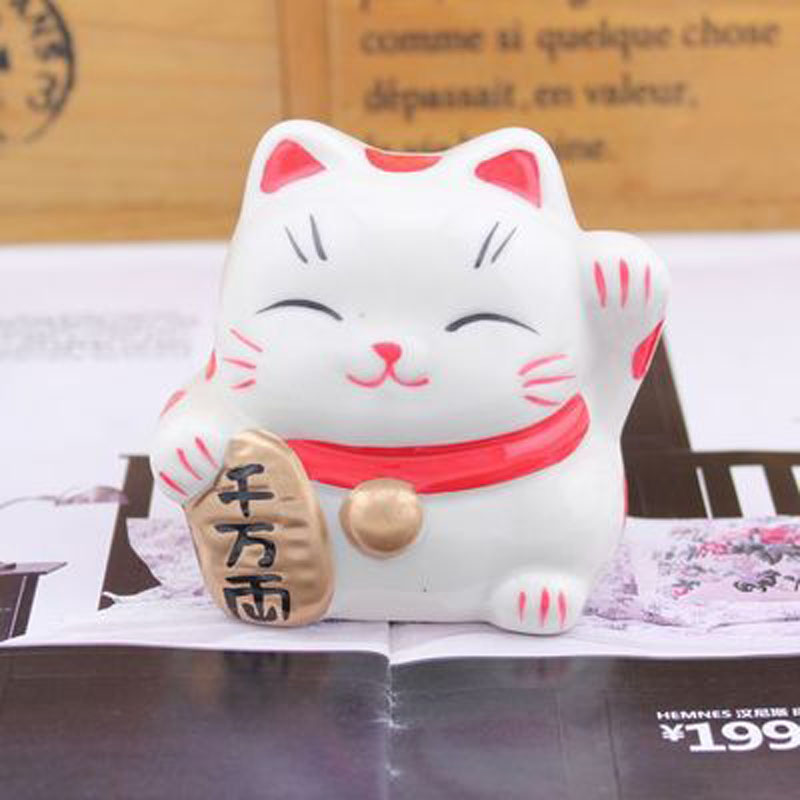 Permalink to WCIC Ceramic Lovely Fortune Cat Money Box Cat Coin Bank Money Safe Coin Box Bank Box Money Boxes for Children Money Bank
