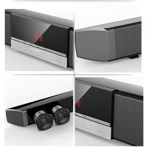 Image 5 - XGODY SR100 Plus Bluetooth Soundbar 40W Home Theater TV Sound Bar Wireless Speaker Aux In Coaxial Optical Subwoofer Speakers