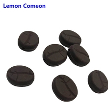Lemon Comeon 5Pcs Chocolate Silicone Beads Baby Teether infantil Perle silicone Teat Toy For DIY Pacifier Pendant Bites Chain