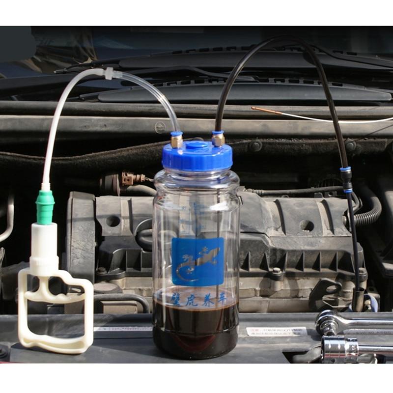 1pc 2L Universal Öl Ändern Artefakt Manuelle Pumpe Saug Öl Pumpe Artefakt Vakuumpumpe Vakuum Pumpe Wartung Werkzeug