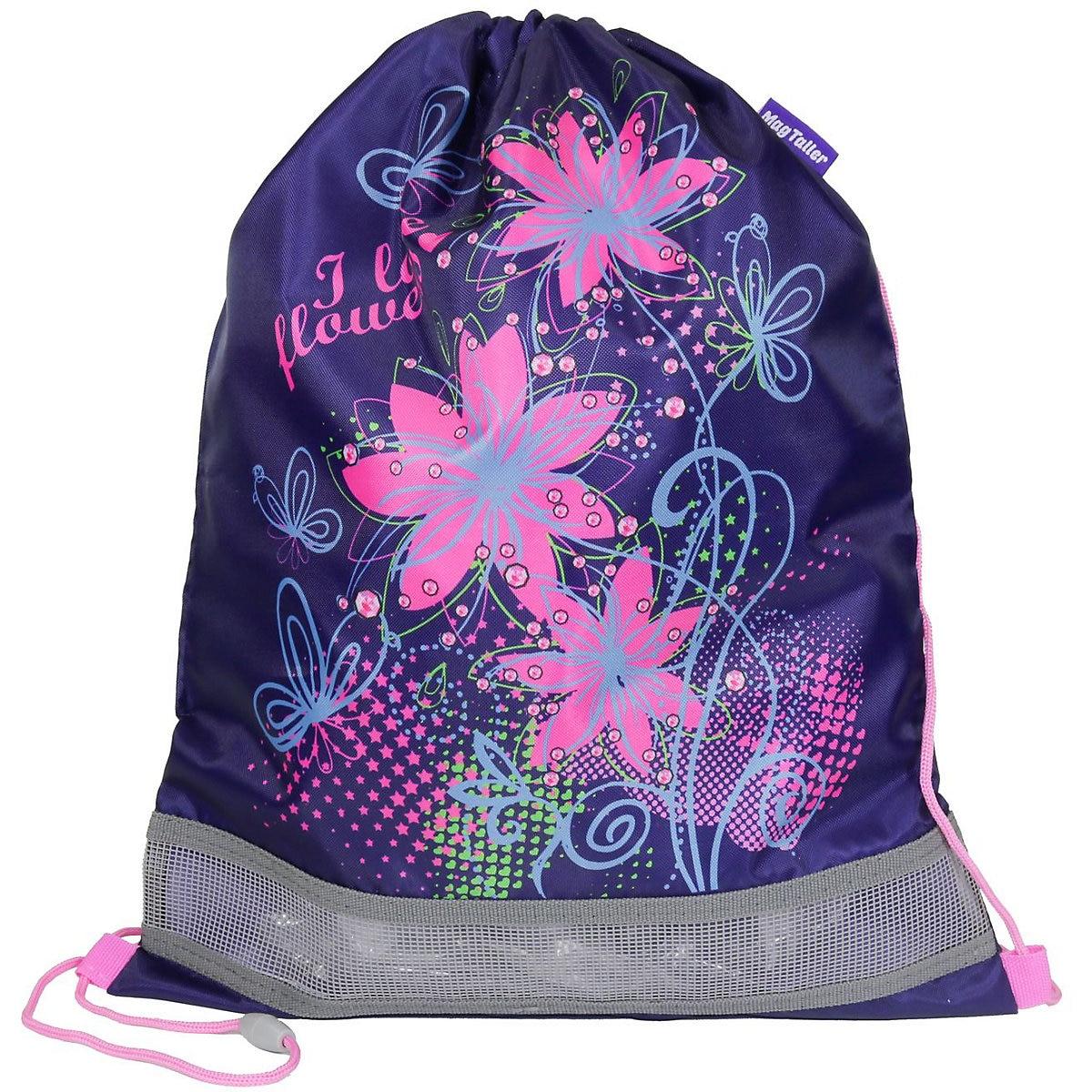 MAGTALLER Drawstring Bags 11154872 Girls Polyester Sports Backpack Shoes Bag MTpromo