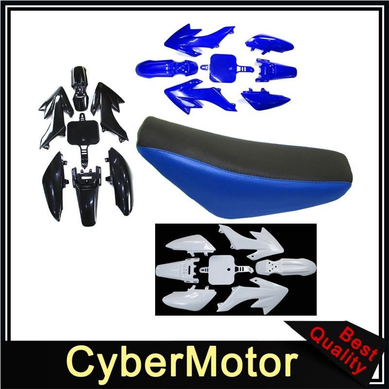STONEDER Asiento Alto de Espuma para carenado de pl/ástico para CRF50 XR50 Pit Dirt Bike 50 125 160 CC