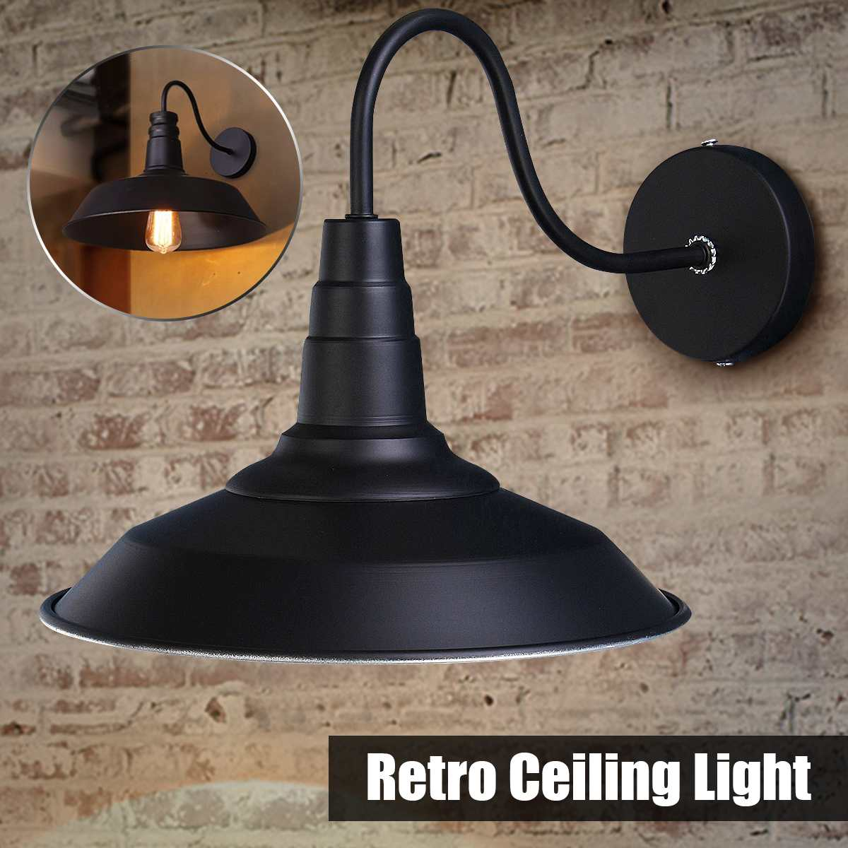 110V/220V Vintage Industrial Wall Lamps Sconce Metal Iron Retro Light Lamp pendant light for Home Kitchen Bar Loft Garden110V/220V Vintage Industrial Wall Lamps Sconce Metal Iron Retro Light Lamp pendant light for Home Kitchen Bar Loft Garden