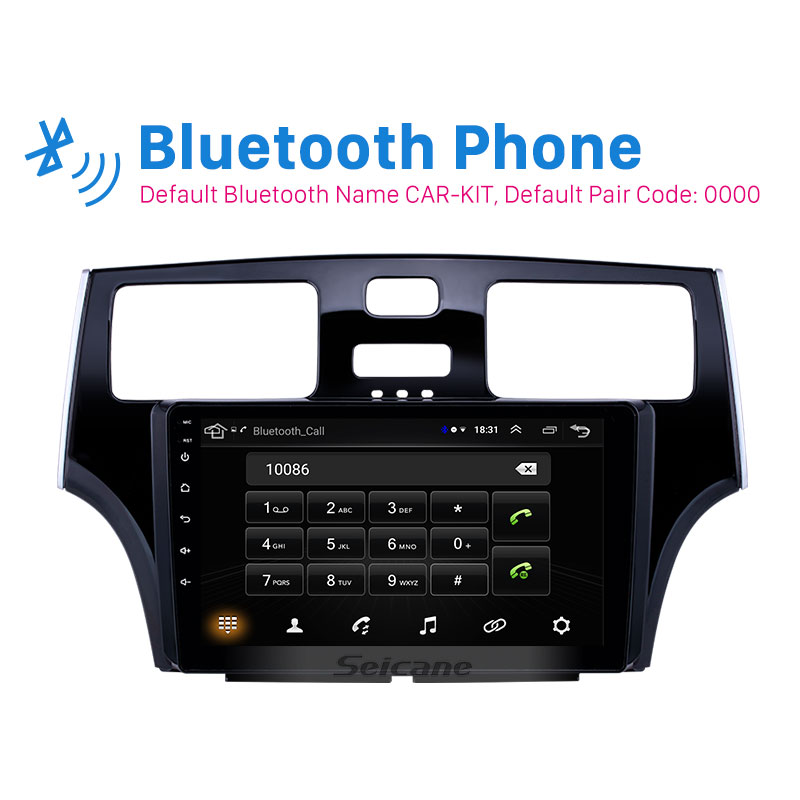 Seicane 9 Inch Car Stereo Bluetooth Wifi GPS Navigation For 2001 2002 2003 2004 2005 Lexus