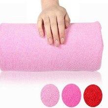 Pillow Cushion Rests Nail-Art Manicure Washable Small Soft 9-Colors Sponge Arm