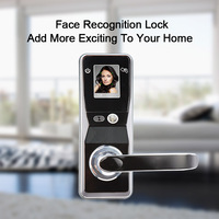 Eseye Digital Door Lock Smart Lock Door Security Card Touch Screen Keyless Face Recognition Home Digital Electronic Lock