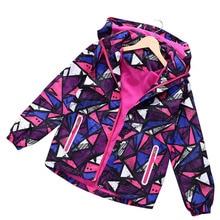 2020 Spring Autumn Winter Kid Girls Coats Children Jackets Double deck Waterproof Jackets Polar Fleece Sport Casual Girl Jacket