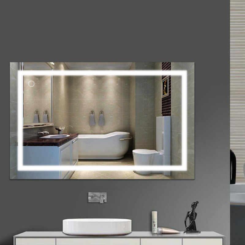 Fr Wall Mount Led Lighted Bathroom