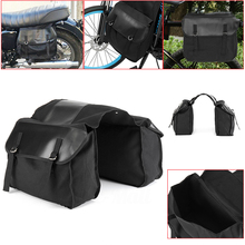 Motorcycle Backpack Storage Bags Saddle Bag Black Backpacks Motorbike Waterproof Large Canvas 1pc