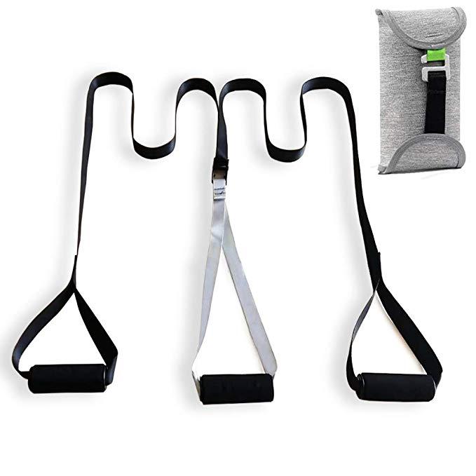 Resistência de fitness correias trainer kit esporte bolso monkii suspensão sling formação pacote sistema trem