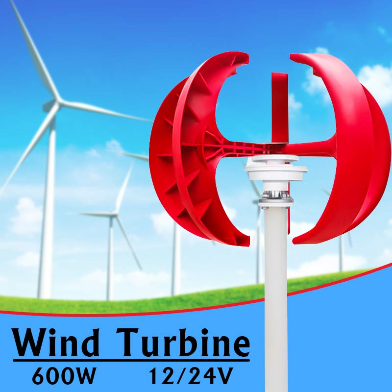 Micro wind turbine 1.8~12V Wind power generator With shell LED generator model