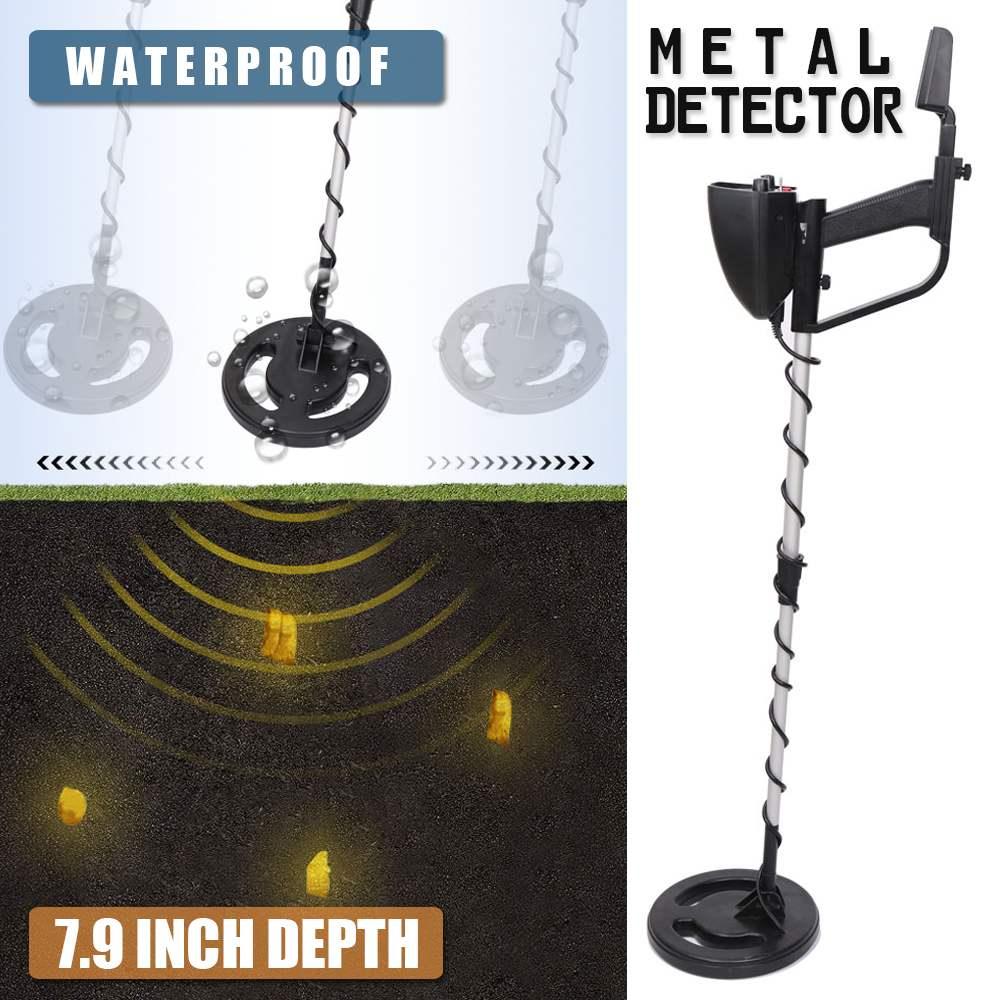 Détecteur de métaux professionnel MD-4040 détecteur d'or réglable sous terre détecteur de Circuit de métal