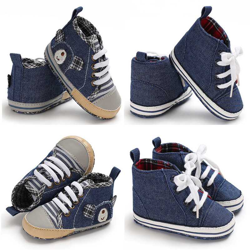 a55125dd676 Newborn Baby Boys Girls kids Geometry casual Shoes Sneakers Polyester  Toddler PreWalker Trainers one pairs-in First Walkers from Mother & Kids on  ...