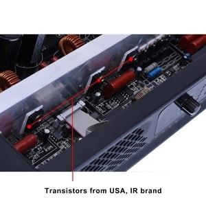 Image 5 - Профессиональный усилитель мощности Mosfet, 2 канала, класс D, 400 Вт, 8 Ом, вечерние усилители для дома, цифровой усилитель