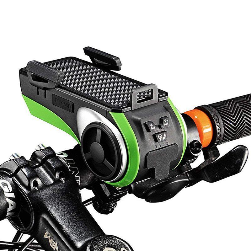 Ction: Bluetooth V4.0, Speaker, 4400 MAh Power Bank, Bike Light, Bicycle Bell, Phone Holder, All-in-One
