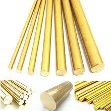 8 мм Диаметр 100/200/330/500 мм латунный круглый бар стержень круглой трубе