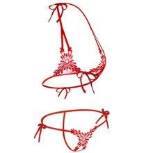 Sexy Bra Panty Womans Lingerie Exotic Bra Sets Sex Products Open Bra Crotch Erotic Lingeri