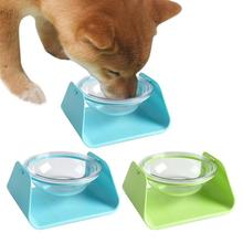 Dog Bowl Travel Pet Dry Food Bowls Pet Tilted Inclined Bowl Adjustable Angle Drinking Food Dish Dog Cat Feeder