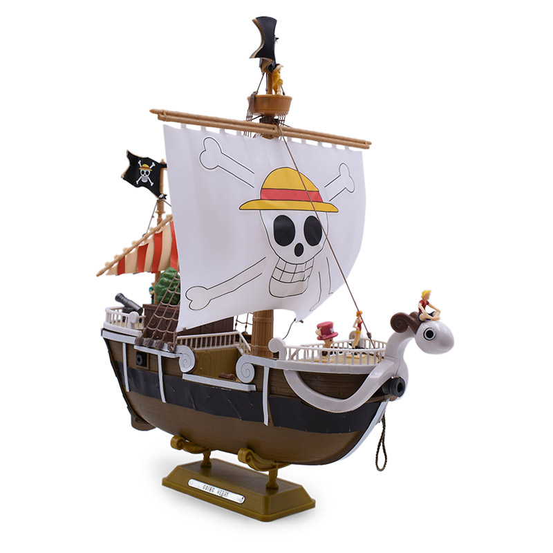 25 cm Anime One Piece Going Merry Pirate Pirate Ship PVC Action Figure Doll Collectible Model DIY Toy Christmas Gift