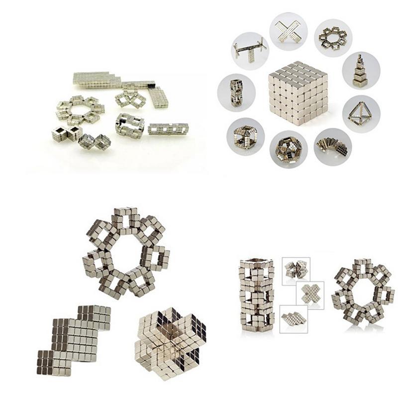 216Pcs Powerful 6*6*6 Magic Cube Puzzle Educational Toy Mini Magnet Balls Puzzle Metal Beads DIY Assemble Magcube Toy|Magic Cubes| |  - title=