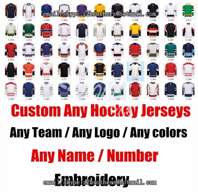 20cdd57327 Wholesale OEM Custom Ice Hockey Jersey Replica Home Away Men Woman Kid  Youth Vintage Design Your Team Logo Embroidered XXS 6XL-in Hockey Jerseys  from Sports ...