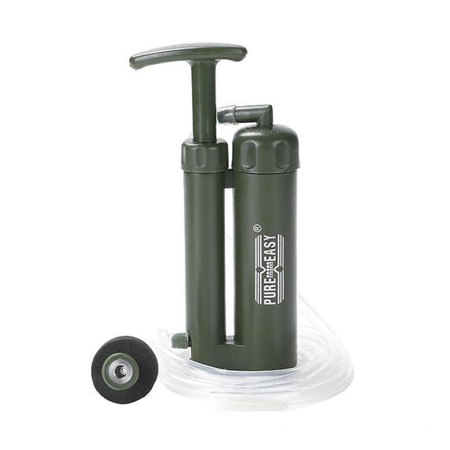 Camping Portable Water Pump Survival 10