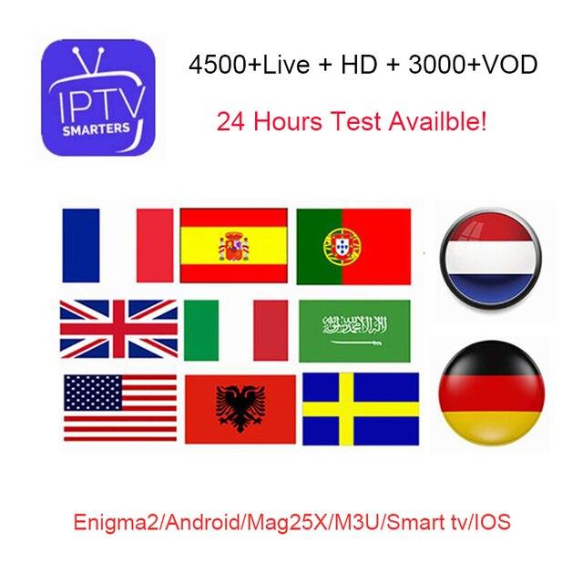 Iptv Subscription Arabic Europe North America Portugal French Italian Polish Uk Spanish Sports Iptv Code M3u Mag Free Test