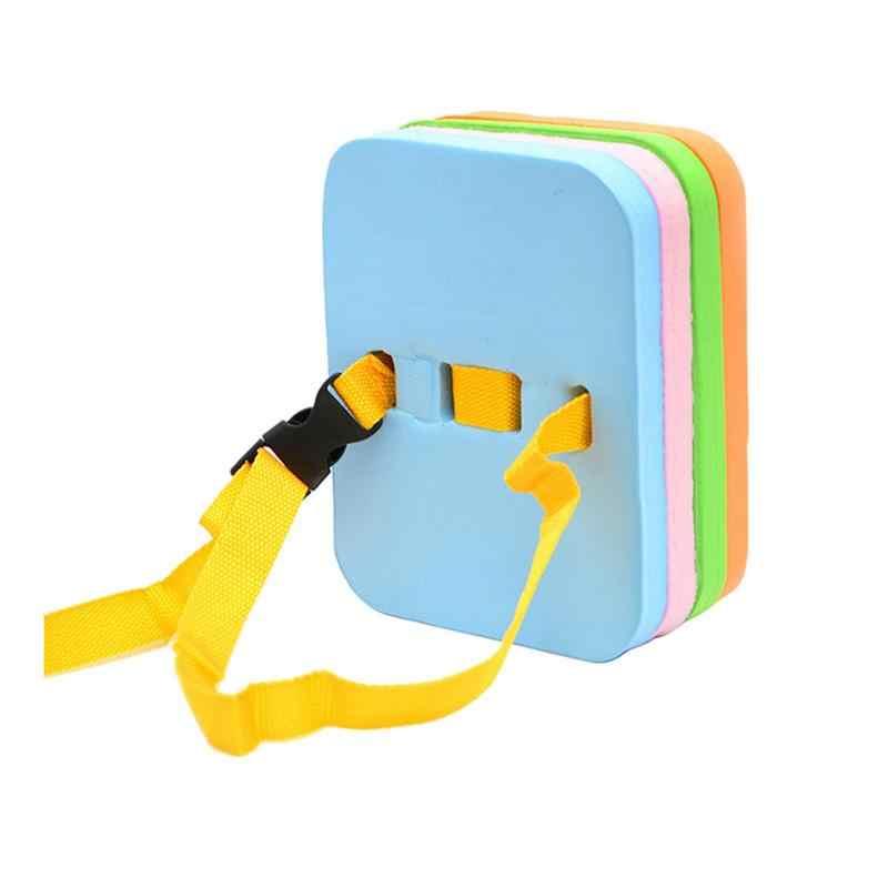 Регулируемый пояс назад плавающий пояс для плавания талии тренировочное оборудование для взрослых детей доска-поплавок пояс Air Matresses Kickboard