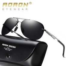 AORON Sunglasses Men Polarized 2019 Pilot Sport UV400 High Quality Retro Sun Glasses For Women Mirror Luxury Brand Designer цена и фото