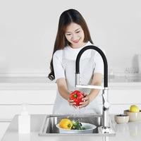 Dabai U Yue Kitchen Intelligent Sensor Switch Faucet 300 Rotating Arm Universal Tube Water Kitchen Stensils