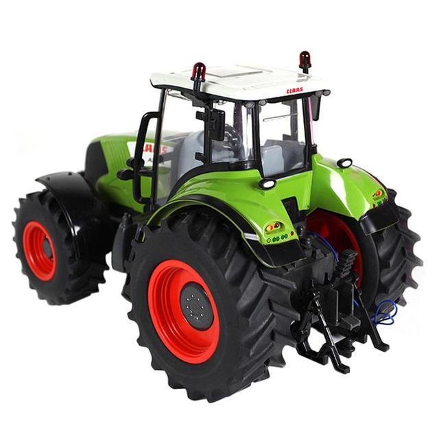 2019 Baru 1:16 2.4G Remote Control Petani Mainan Mobil Claas Traktor Truk Model untuk Anak Laki-laki