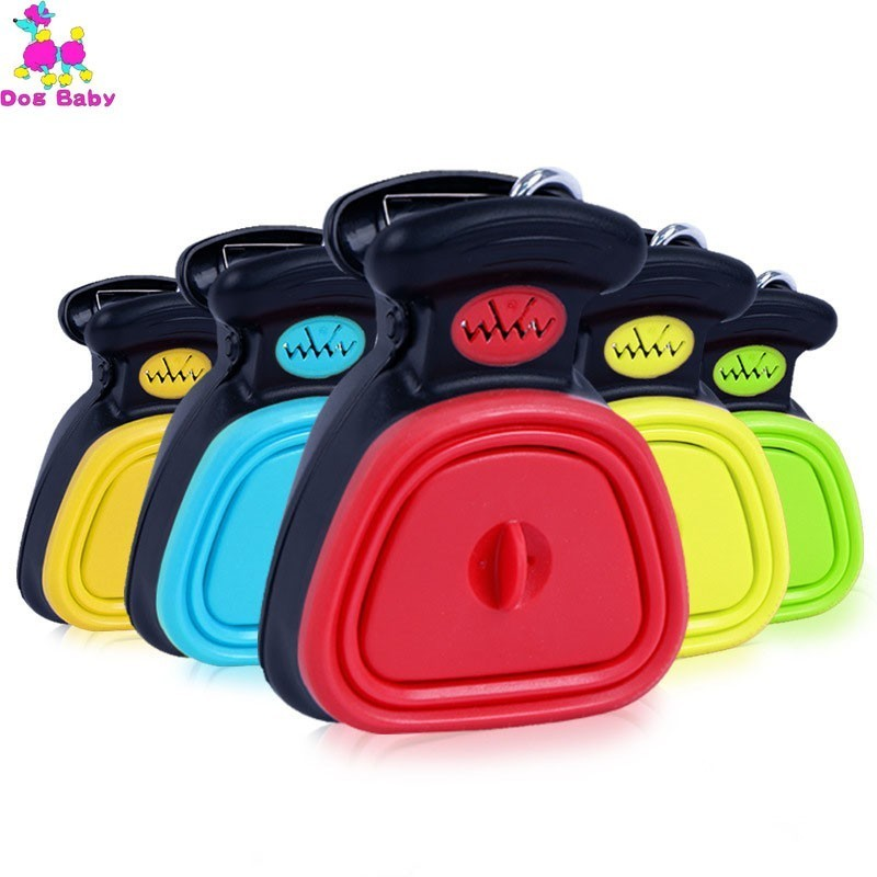Portable Pooper Scooper Expandable Silicone Body With Waste Bag Dispenser Poop Bag Free Shipping