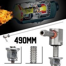 Отопительная топливная колонка, нагреватель, Топливопровод 490 мм, топливный бак, низкопрофильная стандартная труба для топливного бака, отправитель, установка
