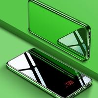 30000mAh Waterproof 3 Ports Mirror LED Digital Display Type C Power Bank Power Micro USB Lighting For Xiaomi MI iPhone Samsung